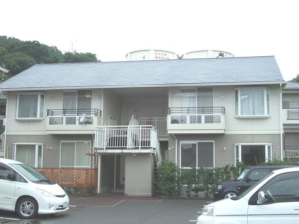 岡山県岡山市北区、備前一宮駅徒歩12分の築22年 2階建の賃貸アパート