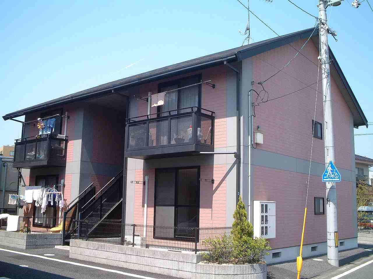 岡山県岡山市北区、北長瀬駅徒歩24分の築19年 2階建の賃貸アパート