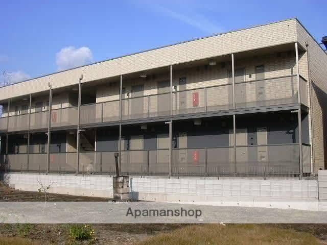 岡山県岡山市南区、妹尾駅徒歩4分の築10年 2階建の賃貸アパート