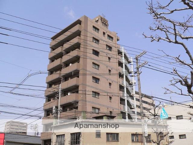 岡山県岡山市北区、岡山駅徒歩24分の築27年 10階建の賃貸マンション