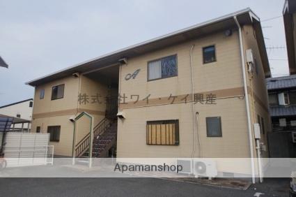 岡山県倉敷市、上の町駅徒歩42分の築25年 2階建の賃貸アパート