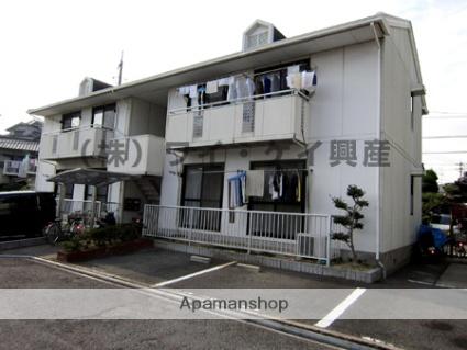 岡山県笠岡市、笠岡駅徒歩35分の築28年 2階建の賃貸アパート