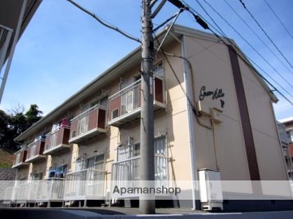 岡山県倉敷市、倉敷駅バス25分笹無山下車後徒歩25分の築28年 2階建の賃貸アパート