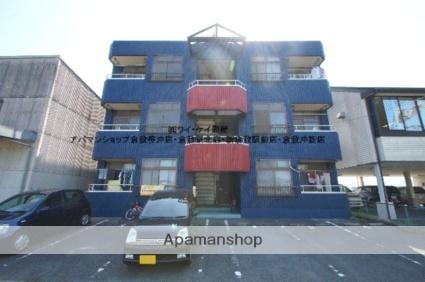 岡山県笠岡市、笠岡駅バス15分工業高校前下車後徒歩5分の築28年 3階建の賃貸アパート