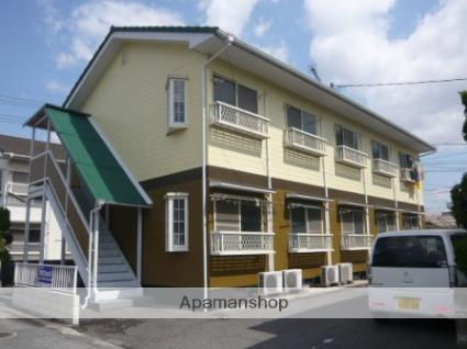 岡山県倉敷市、中庄駅徒歩8分の築24年 2階建の賃貸アパート