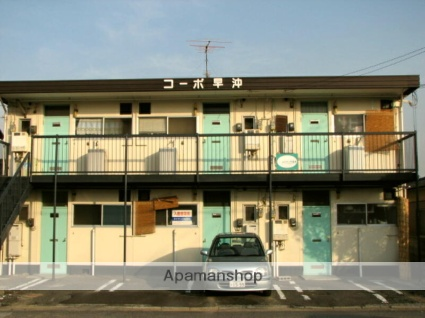 岡山県倉敷市、茶屋町駅徒歩25分の築39年 2階建の賃貸アパート