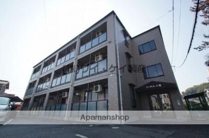 岡山県倉敷市、上の町駅徒歩36分の築18年 3階建の賃貸アパート