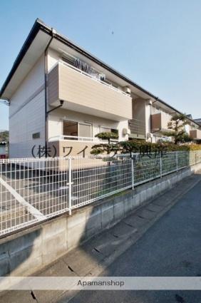 岡山県倉敷市、新倉敷駅バス20分福井下車後徒歩7分の築20年 2階建の賃貸アパート