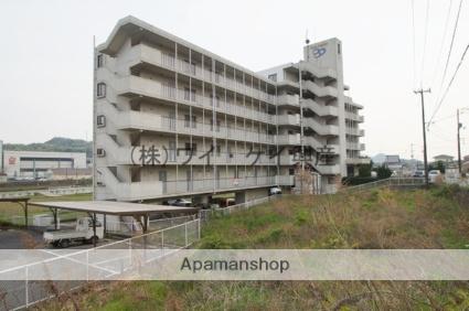 岡山県浅口郡里庄町、鴨方駅徒歩35分の築20年 7階建の賃貸マンション
