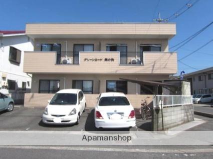 岡山県笠岡市、笠岡駅バス20分桜王子下車後徒歩8分の築20年 2階建の賃貸アパート