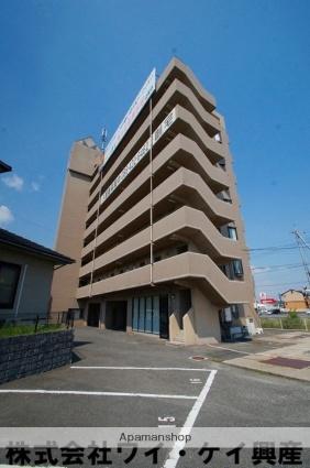 岡山県倉敷市、新倉敷駅徒歩13分の築20年 8階建の賃貸マンション