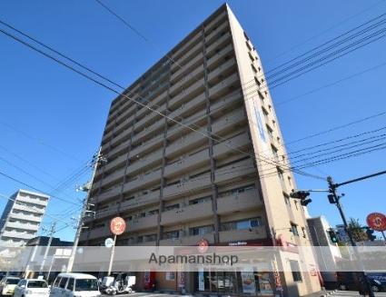 岡山県岡山市北区、岡山駅徒歩10分の築9年 13階建の賃貸マンション
