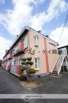 岡山県倉敷市、倉敷駅徒歩25分の築33年 2階建の賃貸アパート
