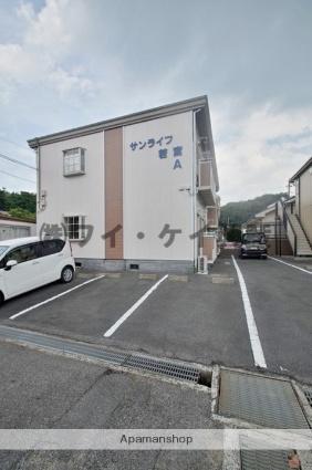 岡山県都窪郡早島町、早島駅徒歩28分の築26年 2階建の賃貸アパート