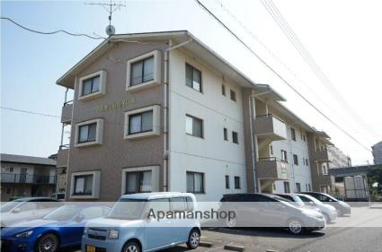 岡山県倉敷市、中庄駅徒歩3分の築21年 3階建の賃貸マンション