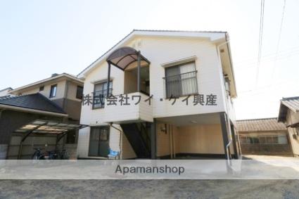 岡山県倉敷市、栄駅徒歩16分の築20年 2階建の賃貸アパート
