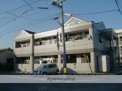 岡山県岡山市南区、備前西市駅徒歩30分の築17年 2階建の賃貸アパート