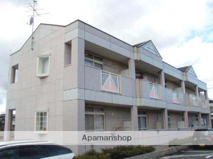 岡山県岡山市北区、庭瀬駅徒歩16分の築18年 2階建の賃貸アパート