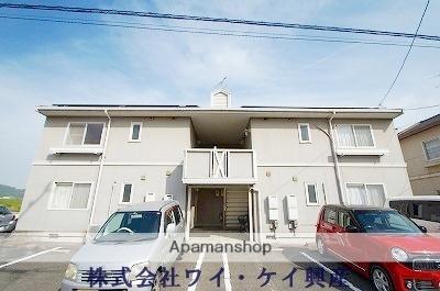 岡山県倉敷市、新倉敷駅徒歩32分の築22年 2階建の賃貸アパート
