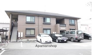 岡山県倉敷市、川辺宿駅徒歩13分の築15年 2階建の賃貸アパート