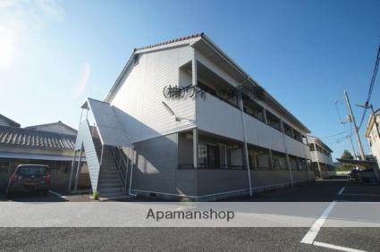 岡山県倉敷市、西阿知駅徒歩65分の築20年 2階建の賃貸アパート