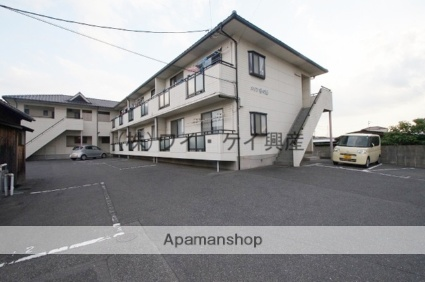 岡山県浅口市、金光駅徒歩3分の築19年 2階建の賃貸アパート