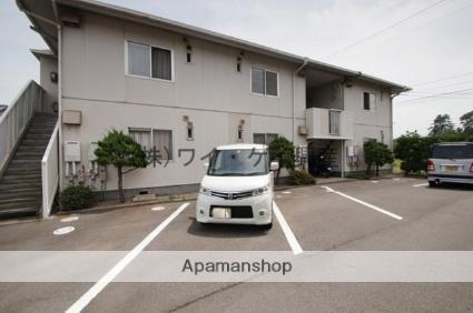 岡山県浅口市、金光駅徒歩17分の築28年 2階建の賃貸アパート