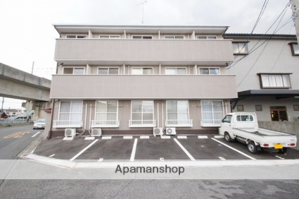 岡山県倉敷市、児島駅徒歩10分の築21年 3階建の賃貸アパート