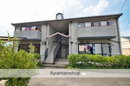 岡山県倉敷市、庭瀬駅徒歩40分の築20年 2階建の賃貸アパート