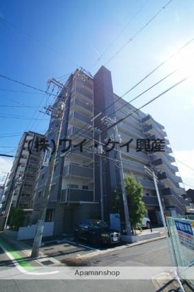 岡山県倉敷市、倉敷駅徒歩13分の築9年 9階建の賃貸マンション