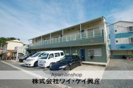 岡山県浅口市、鴨方駅徒歩18分の築13年 2階建の賃貸アパート