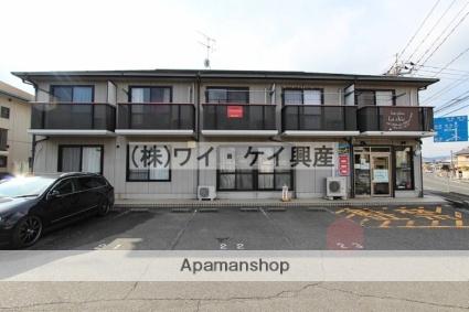 岡山県岡山市北区、備前一宮駅徒歩35分の築20年 2階建の賃貸アパート