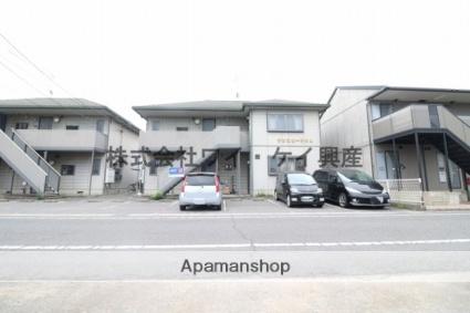 岡山県倉敷市、栄駅徒歩17分の築16年 2階建の賃貸アパート