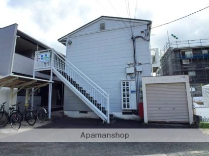 岡山県倉敷市、倉敷駅徒歩15分の築23年 2階建の賃貸アパート