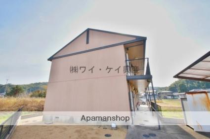 岡山県倉敷市、新倉敷駅徒歩50分の築20年 2階建の賃貸アパート