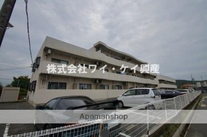 岡山県倉敷市、倉敷駅徒歩18分の築14年 3階建の賃貸アパート