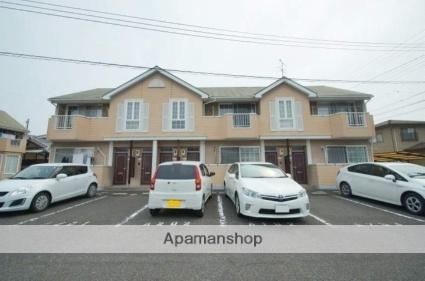 岡山県倉敷市、倉敷駅バス6分西中下車後徒歩3分の築19年 2階建の賃貸アパート