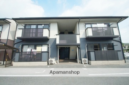 岡山県倉敷市、西富井駅徒歩20分の築18年 2階建の賃貸アパート