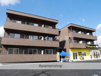 岡山県笠岡市、笠岡駅バス18分吉田中下車後徒歩3分の築3年 3階建の賃貸マンション