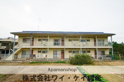 岡山県浅口郡里庄町、金光駅徒歩52分の築34年 2階建の賃貸アパート
