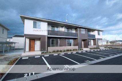 岡山県倉敷市、三菱自工前駅徒歩46分の築4年 2階建の賃貸アパート
