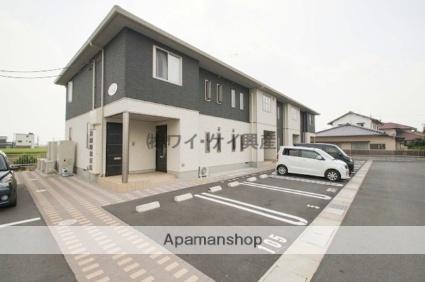 岡山県都窪郡早島町、早島駅徒歩4分の築5年 2階建の賃貸アパート