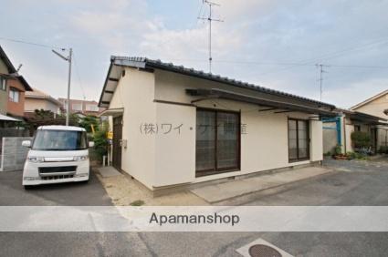 岡山県倉敷市、西阿知駅徒歩24分の築46年 1階建の賃貸一戸建て