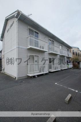 岡山県総社市、東総社駅徒歩17分の築22年 2階建の賃貸アパート