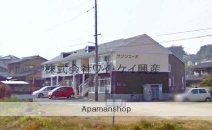 岡山県倉敷市、上の町駅徒歩11分の築25年 2階建の賃貸アパート