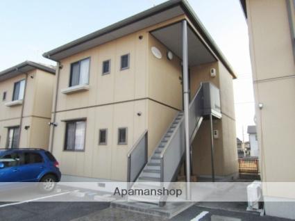 岡山県倉敷市、清音駅徒歩20分の築13年 2階建の賃貸アパート