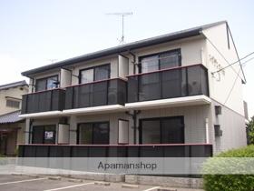 岡山県総社市、清音駅徒歩45分の築19年 2階建の賃貸アパート