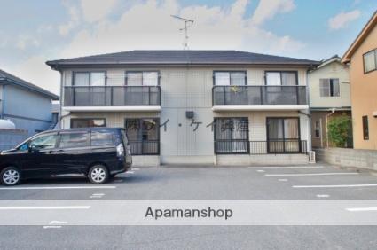 岡山県総社市、東総社駅徒歩6分の築20年 2階建の賃貸アパート