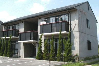 岡山県倉敷市、西富井駅徒歩19分の築20年 2階建の賃貸アパート