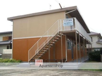 岡山県岡山市北区、備前一宮駅徒歩27分の築42年 2階建の賃貸アパート